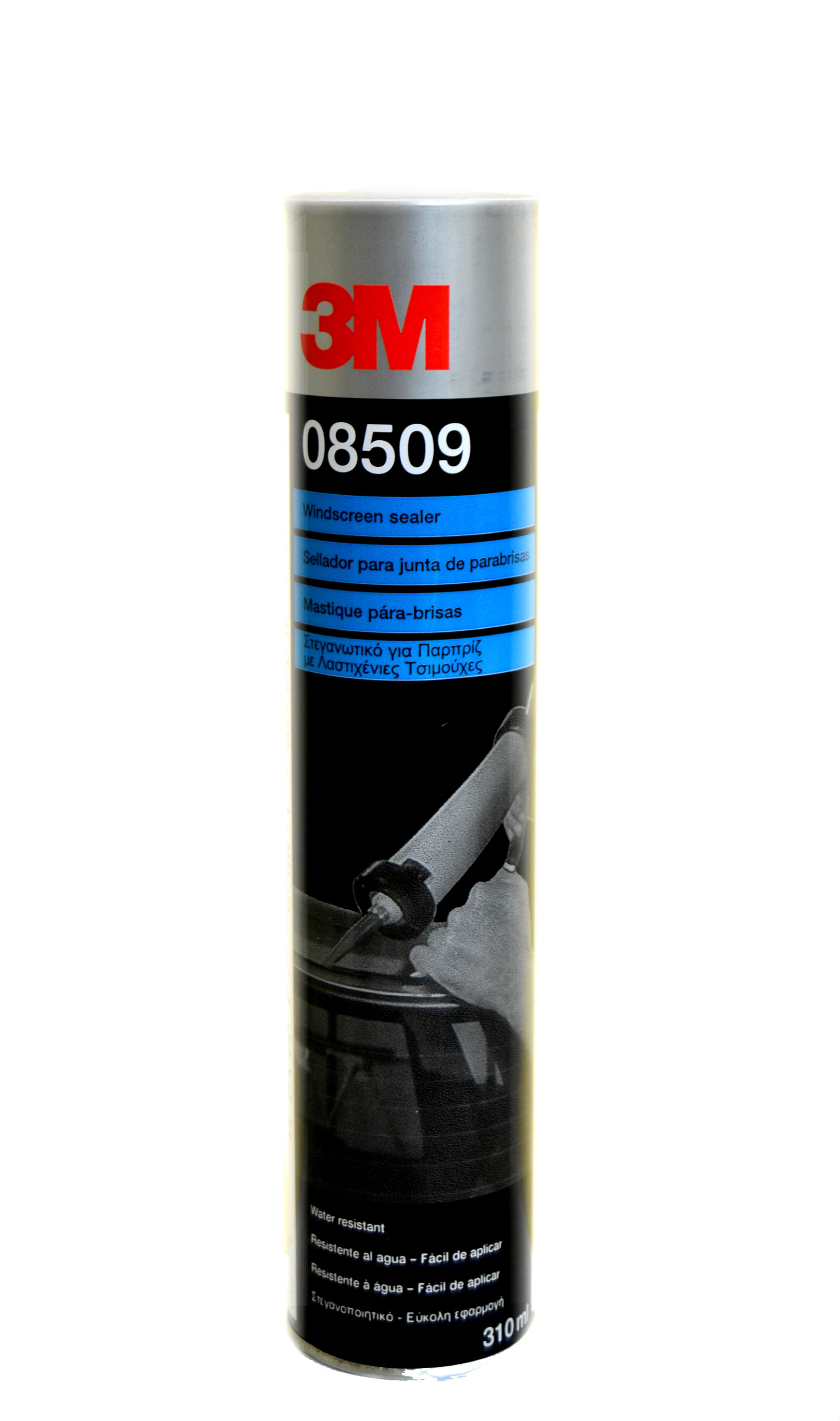 3M Windscreen Sealer Cartridge Black 310ml 08509