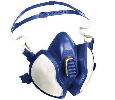 3M 06941 Mask Respirator Maintenance Free Half Mask