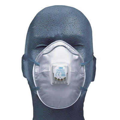 3M Disposable Respirator PK10 FFP2 06922