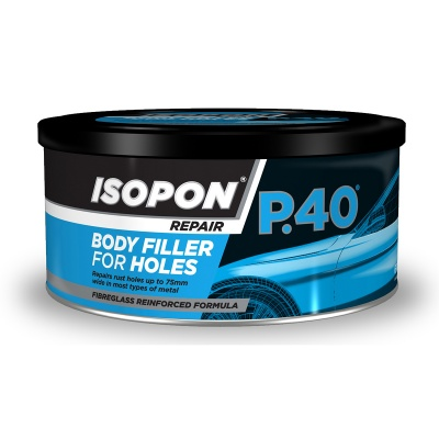U-POL P40/S Glass Fibre Repair Paste 250ml