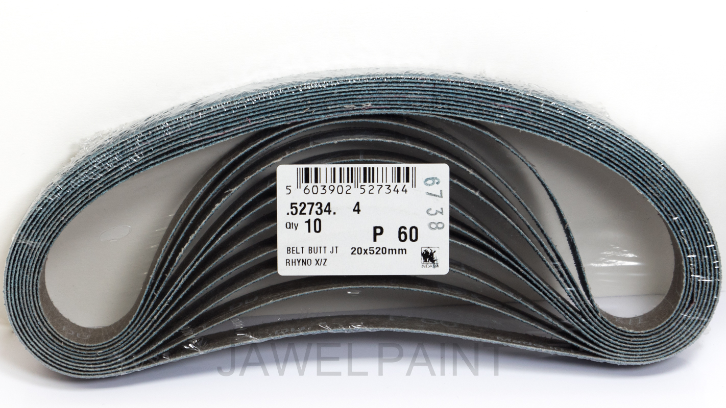 Sanding Belts 20x520mm 60 Grit