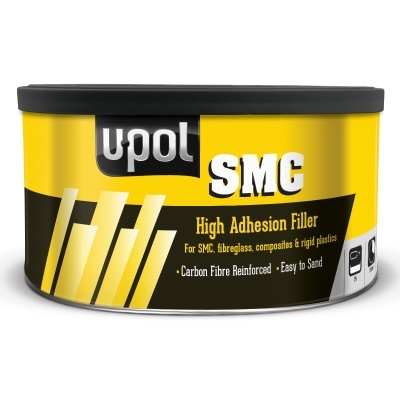 U-POL SMC High Adhesion Filler Black 1.1Litre