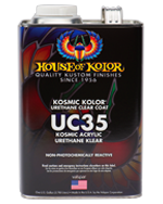 Kosmic Polyurethane Klear US Gallon