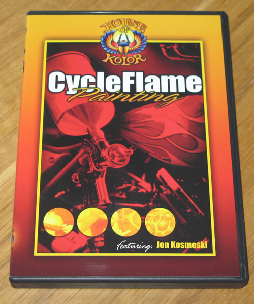 Video Cycle Flame Painting