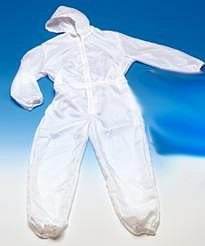 TYVEK overall LARGE with hood