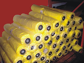Yellow masking film
